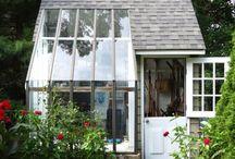 gardener's shed / by Elizabeth A