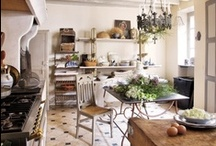 Country French Kitchens / by Debbie @ Confessions of a Plate Addict