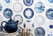 Blue  and White Love / by Debbie @ Confessions of a Plate Addict