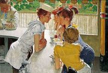 Norman Rockwell / by Cindy Kimpel