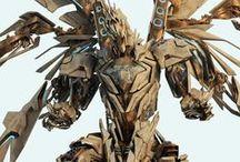 Concept Art - Technology / Mech's / Robots / Machines / Vehicles / Weaponry / Etc.