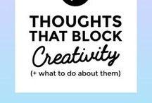 Creativity / How to live life creatively
