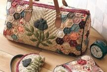 Quilted bags etc. / by Karen Lee