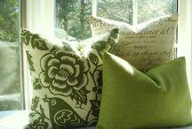 pillows / by Elizabeth A
