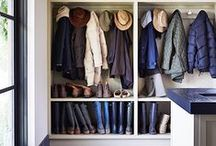 Mudrooms / Because Mudrooms Don't Have to be Hideous. How-To's and Visual Yumness for Your Mudrooms and Every-Day Storage.