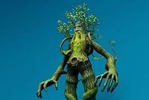 KoRu Project - Green Man / Ents / Forest Gods / KoRo Project Research