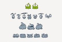KoRu Project_Mini Games / Visual research of art styles for Mini Game