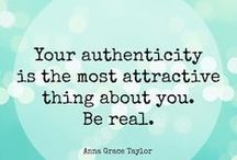 Authenticity / My search for the meaning of authenticity in a world of fakes.  Examples of great people who remained authentic through wealth.  The privileged and wealthy people who continue to be a real human being, taking action to help humanity.