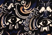 PRINT & PATTERN / Prints and patterns that inspire me. Colours, texture, fabric etc.