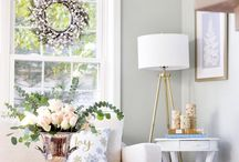 Holiday Home Inspiration / Holiday Home Inspiration from Home Decor Bloggers!