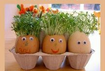 Spring & Easter / Fantastic ideas for spring activities for kids. Easter crafts, spring sensory play, Easter coloring pages, Easter bunnies, cute spring crafts and more! / by Cathy James @ NurtureStore