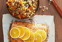 nomnom / wide variety of food / drink recipes & healthy habits  / by Brook ,
