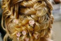 The Salon / Hair styles, curl tips, braids buns and nails