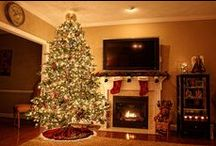 Holiday Inspirations / Christmas decor ideas. DIY displays, garlands and more.