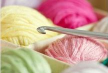 Knitting, Crochet and Tatting Projects / Patterns, ideas and tutorials of knitting, crochet and tatting pieces.