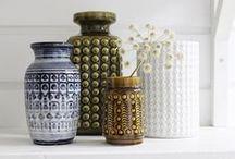 > my weak spot < / Vintage ceramics, can't keep away.