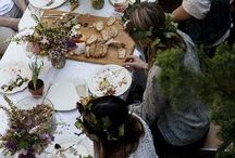 Operation Hot Wedding: Shower / Natural garden tea party.