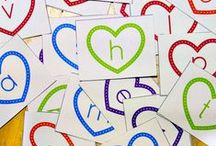 Alphabet and Letter Activities / Alphabet activities, learning letters activities, alphabet crafts, ABC crafts, how to learn the alphabet and letter sensory play / by Cathy James @ NurtureStore