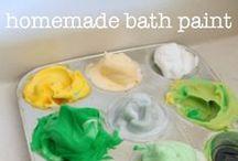 Bath Time Play Activities / bath time play activities, bath play, sensory water play, fun bath time ideas / by Cathy James @ NurtureStore