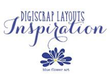 DigiScrap Layouts Inspiration