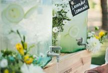 Wedding Lemonade Stand / Wedding Lemonade Stand Ideas Wedding Lemonade Stand Inspiration Wedding Lemonade Stand Theme Wedding Drink Station Lemonade Stand Styling by Sail and Swan