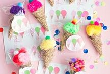 Kids Birthday Party Ideas / Inspiration and DIY Ideas for Kids Birthday Parties