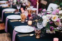 Moody Wedding Colour Scheme / Moody Wedding Colour Scheme Moody Wedding Decor Dark Colours Black Purple Moody Wedding Ceremony Moody Wedding Reception Moody Wedding Ideas Moody Wedding Inspiration by Sail and Swan