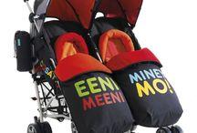 Zwillinge Baby Kinderwagen / Twins stroller  - hier findet ihr eine große Auswahl an Zwillingskinderwagen - Zwillingsbuggys und Geschwisterkinderwagen.