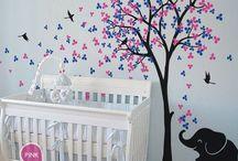 Kinderzimmer / Ideen für schöne Kinderzimmer. Von Babyzimmer hin zu Kinderzimmer für größere Kids.