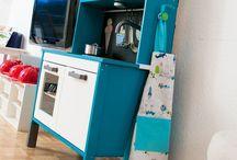 Ikea Hacks für Kinder / Spielküchen pimpen - Ikea und mehr