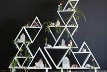 Geometric Wedding Ideas / Geometric Wedding Ideas Geometric Wedding Inspiration Geometric Wedding Theme Geometric Wedding Styling Geometric Wedding Decor Geometric Wedding Style by Sail and Swan