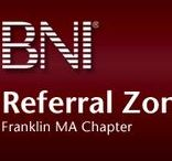 "BNI chapter, The Referral Zone / BNI provides the opportunity for you to develop powerful relationships with dozens of qualified business professionals. Our chapter's success stems from each member's commitment to the ""givers gain"" philosophy. By learning about and understanding each member's business, we can provide sincere testimonials about a fellow member's products, services and value http://www.referral-zone.com"
