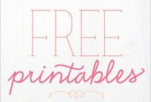 Printables/ Freebies / by Diana Sonnier-Evans