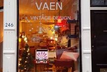 at our little shop in Utrecht / VAEN - vintage design is a little shop in the centre of Utrecht with furniture mainly from the 50s and the 60s such as  Tomado, String, Pastoe, Ahrend, Raak, Spectrum, Cadovius