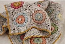 Crochet-Granny Squares, Hexagons, etc