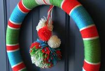 Door Decor DIY's / Wreaths and Door Hangings