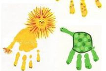 Craft Ideas for Toddlers / Let them be messy. / by Katie WellnessMama