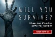 Every Product You Need to Survive....Zombie Apocalypse. / Barricade the doors. They're coming. And we're ready for 'em.  GovX has done the prep work for you. Shop the products that will keep you among the living.
