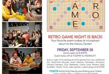 Retro Game Night 2015! / Retro Game Night brings us back to our childhood with board games and actives for the young at heart. Spend the evening playing games of your youth with an adult twist.