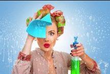 Putzen / Tipps und Tricks zum Putzen, Reinigen, Saubermachen im Haushalt.