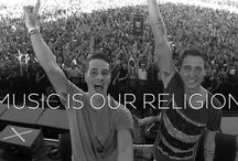 """""""Music is our religion"""" / Spinnin', Revealed, Armada, Tiësto edit & many more labels"""