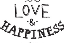 Happiness is... / A collection of all my favourite things!