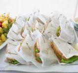 Wedding Food + Drinks / Fun ideas for wedding receptions of all themes.