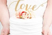 Wedding Cakes / Gorgeous wedding cakes in all shapes, styles, and sizes to inspire you.