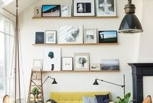 Interiors / Home inspiration / by Andrea Pittam at Kiss the Frog x