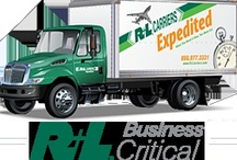 What we Do / R+L Carriers has shipping services to fit any need. Our freight services include options for LTL, Truckload, Logistics, and more. We also have options to guarantee delivery. In fact, with services like air, rail and ocean, we ship your freight anywhere, anytime. / by R+L Carriers