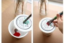 Reuse & Upcycle yogurt cups / Images, tips and ideas for reusing and upcycling yogurt cups.  / by WholeSoy & Co.