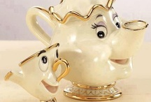 Tea pots, jugs, cups and mugs