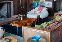 cool living space / by Lindsay Yeager