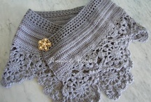 crochet Wraps and Scarfs